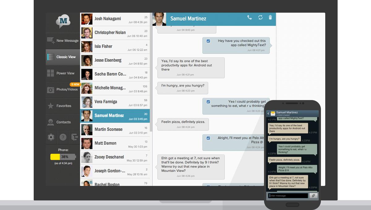 Send & Receive Text Messages From Desktop PC | bTechSharp